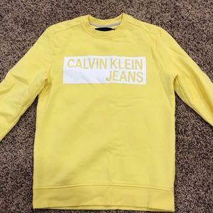 NEVER WORN calvin klein sweatshirt